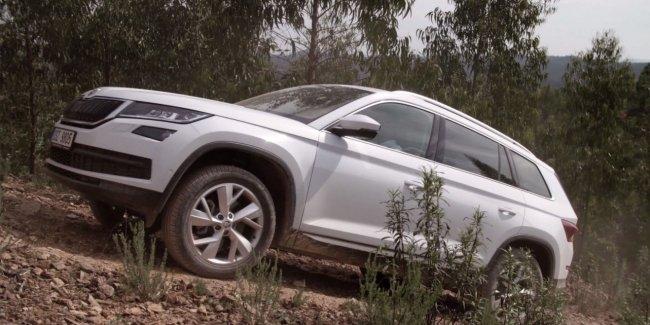 Приглашение SKODA KODIАQ off-road test drive