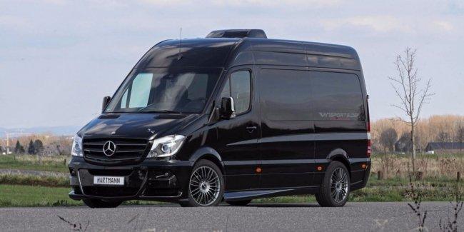 Hartmann представил автокемпер Vansports Camper Sprinter