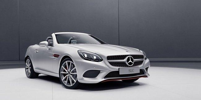Mercedes откажется от создания родстера SLC следующего поколения