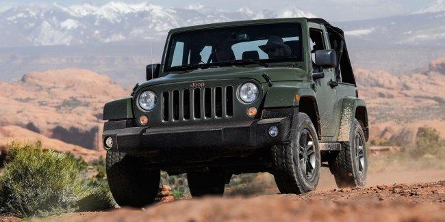 Новый внедорожник Jeep Wrangler официально представят в сентябре