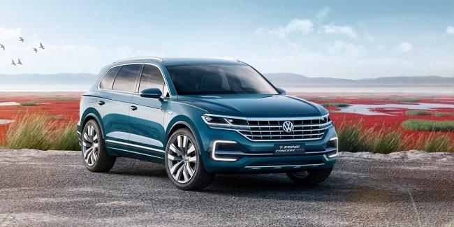 Volkswagen представит шесть новинок в 2017 году