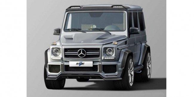 Ателье RevoZport поработало над «заряженными» Mercedes-AMG G 63 и G 65