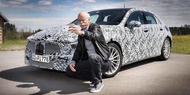 Глава Daimler показал прототип нового Mercedes-Benz A-Class