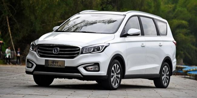 В Китае стартовал новый бюджетный минивэн бренда Changan