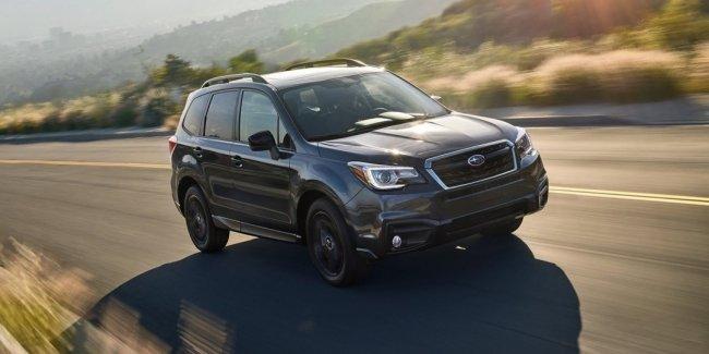 Кроссовер Subaru Forester получил «черную» версию Black Edition