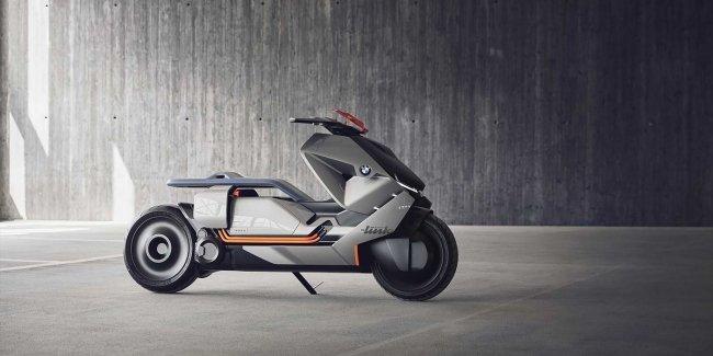 Компания BMW создала городской мотоцикл будущего