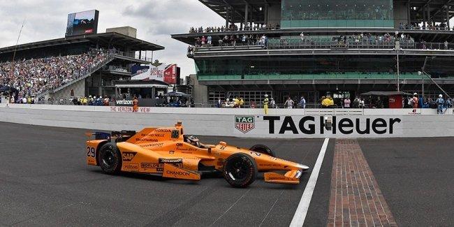 Алонсо стал лучшим новичком «Инди-500»