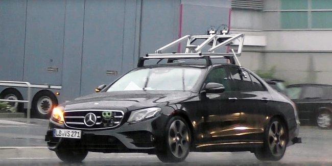 Mercedes-Benz начал испытания беспилотного E-Class