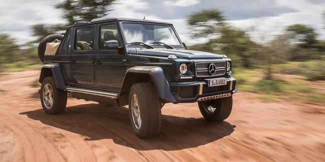 Mercedes-Benz распродал все внедорожники Maybach