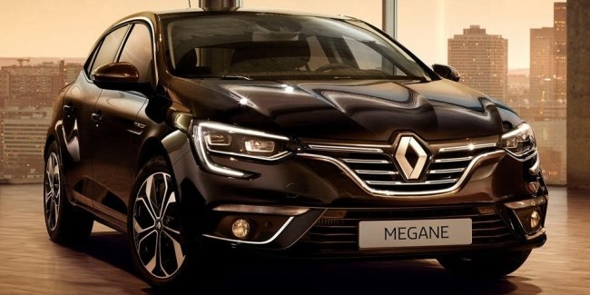 Renault Megane получил лимитированную версию