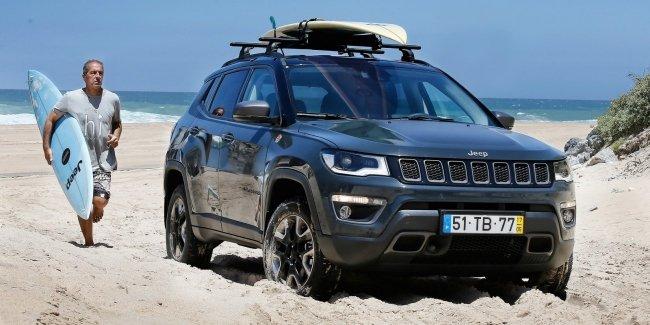 Jeep Compass подготовили для любителей экстремального спорта