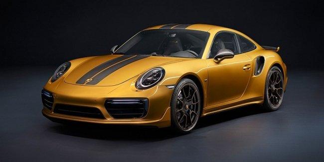 В Porsche сделали самый мощный 911 Turbo S