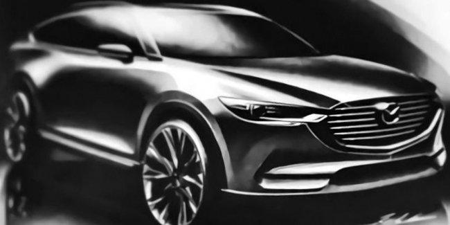 Семиместный кроссовер Mazda CX-8 дебютирует в сентябре