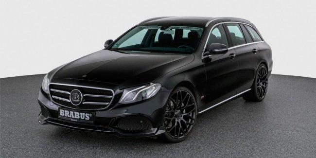 Brabus предложил пакет тюнинга для базовых универсалов Mercedes-Benz E-Class