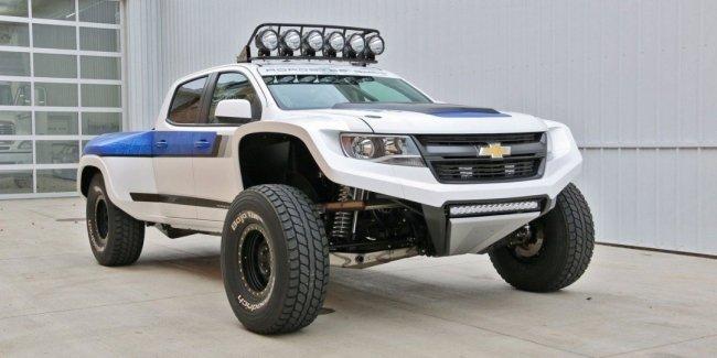 Roadster Shop превратил Chevrolet Colorado в уникальный 730-сильный внедорожник