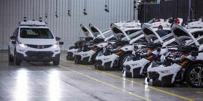 General Motors втрое увеличил свой автопарк беспилотников
