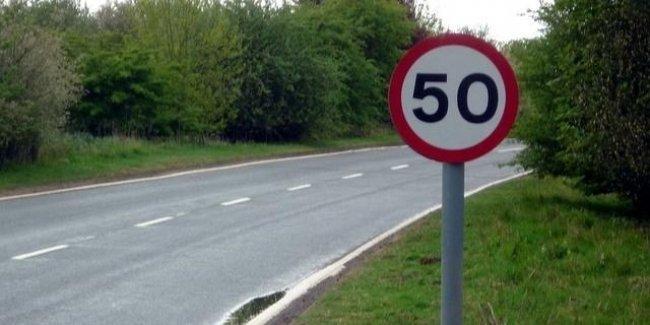 В Украине хотят снизить скорость в населенных пунктах до 50 км/ч
