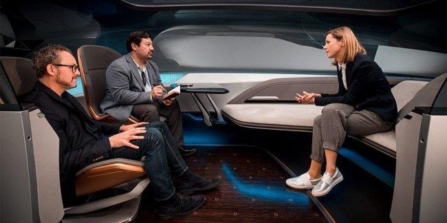 Audi показала салон беспилотника будущего