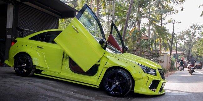 Тюнинг Chevrolet Cruze: перевоплощение в хардкорный спорткар