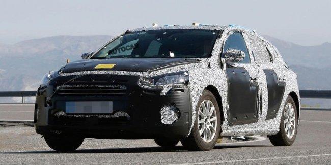 Новый Ford Focus сфотографировали с серийным кузовом