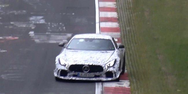 Самый злой Mercedes-AMG GT вывели на Нюрбургринг