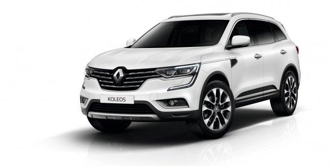 Стали известны цены на новый Renault Koleos