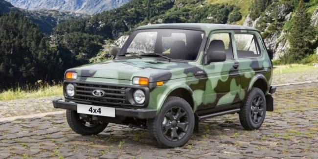 У самой дорогой Lada 4x4 появился камуфляж