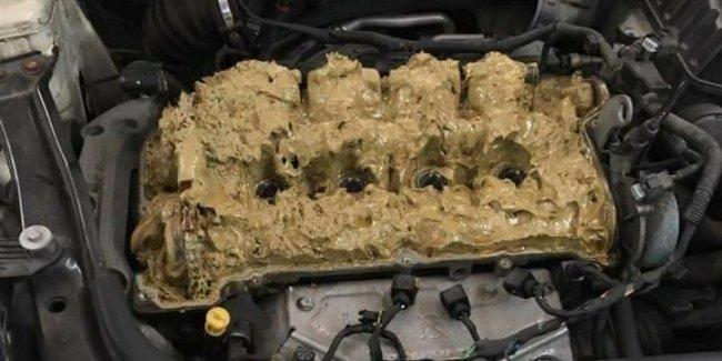 Что будет, если залить омывайку в двигатель