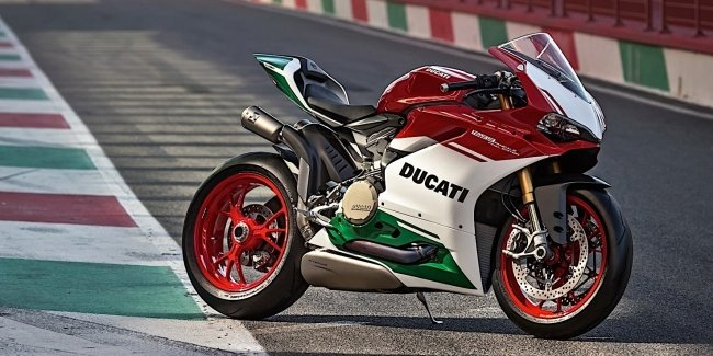 Представлен мотоцикл Ducati 1299 Panigale R Final Edition
