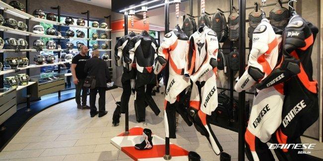 Dainese открыла магазин мотоэкипировки нового формата в Берлине