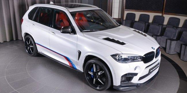Тюнингованный «заряженный» BMW X5 M