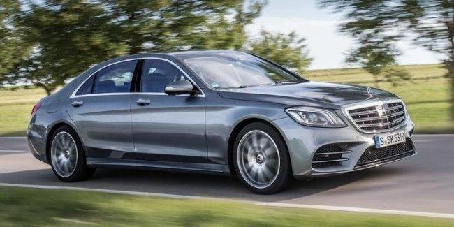 В Европе стартовали продажи обновленного Mercedes-Benz S-Class