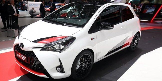 Тираж «горячей» версии Toyota Yaris для Европы ограничат 400 машинами