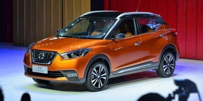 Кроссовер Nissan Kicks выходит на рынок Китая