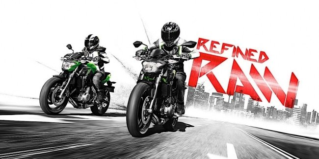 Новые мотоциклы модели Kawasaki Ninja 650