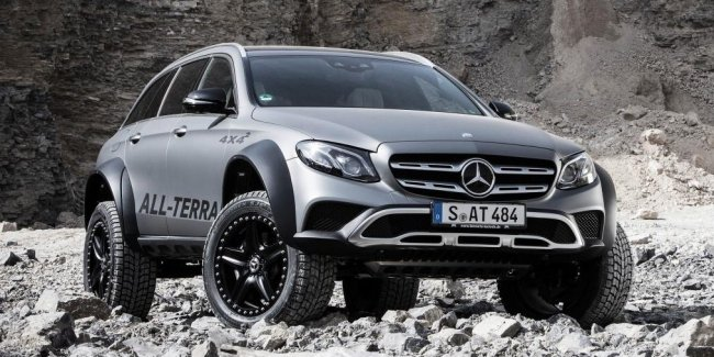 Экстремальный «сарай»: представлен универсал Mercedes-Benz E-Class All Terrain 4x4