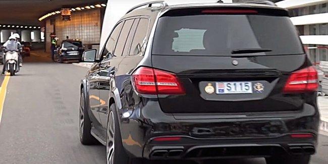 Сочнее фреша: как звучит Mercedes Brabus GLS 63