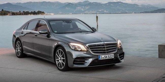 Изучаем новый Mercedes-Benz S-Class