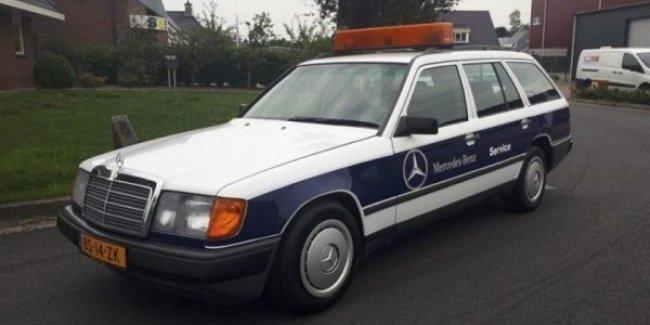 Владелец Mercedes 124 наездил на нем 2 миллиона км