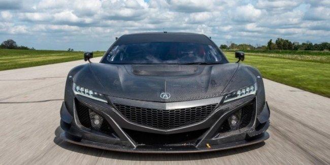 Новый гоночный спорткар Acura NSX GT3 оценили в 465 тысяч евро