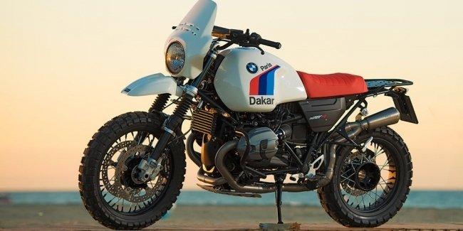 Unit Garage: комплект Paris-Dakar для BMW R nineT