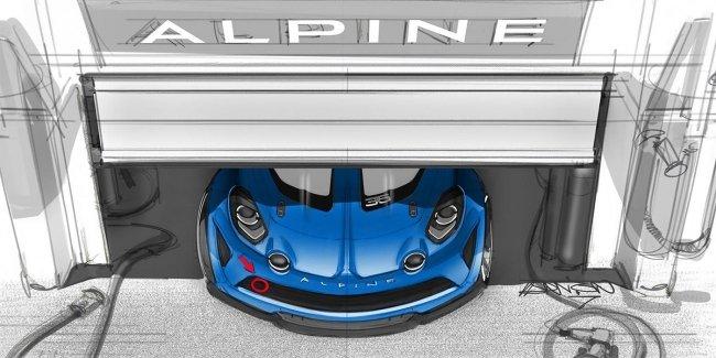 Спорткар возрожденной марки Alpine получит гоночную версию