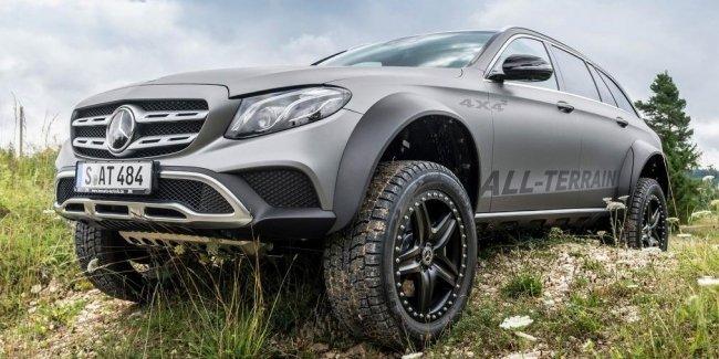 Экстремальный внедорожный универсал Mercedes может пойти в серию