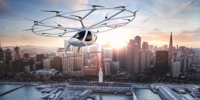 Daimler поддержит разработку электрического летающего такси