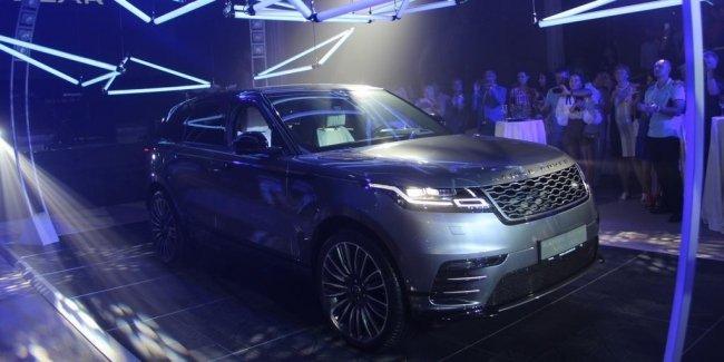 Новый Range Rover Velar в Украине: названы цены и комплектации