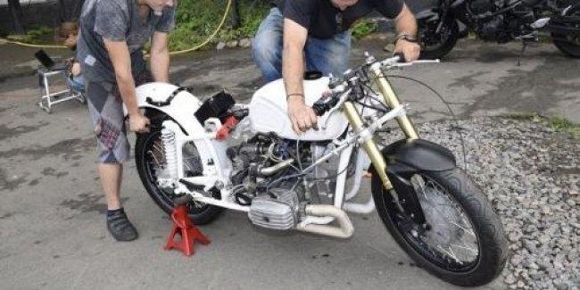 Украинский мотоцикл Днепр попробует установить рекорд скорости в США