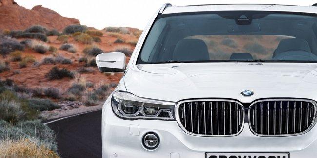 Флагманский внедорожник BMW X7: новые изображения