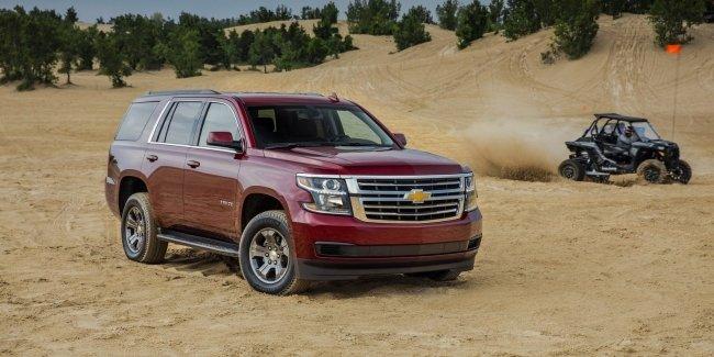 Chevrolet Tahoe получил новую версию Custom