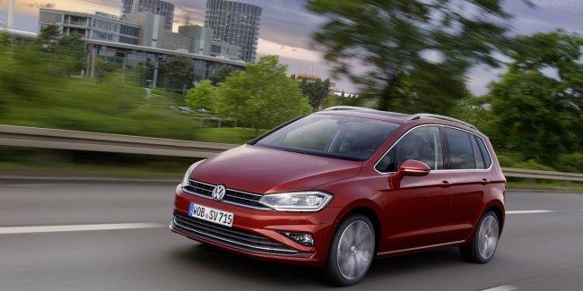 Обновленный 2018 VW Golf Sportsvan готовится к дебюту во Франкфурте