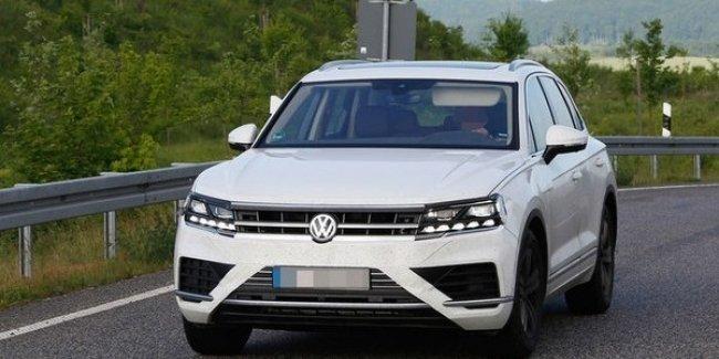 Названа дата презентации нового Volkswagen Touareg